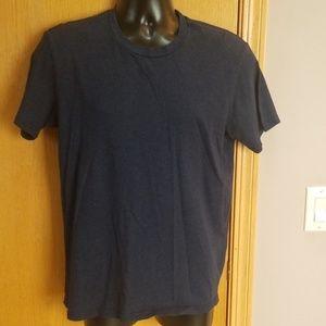 Men's Alternative dark blue basic t ... Large